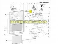Модуль (плата) посудомоечной машины Indesit Ariston C00086607