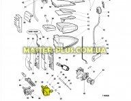 Мотор Indesit C00095348