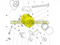 Бак в зборі Indesit Ariston C00097236 для пральної машини
