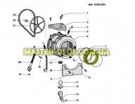 Резина (манжет) люка Indesit C00145112