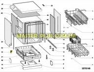 Мережевий фільтр Indesit Ariston під фішку для посудомийної машини