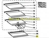 Обрамление стеклянной полки (передннее) Indesit C00285943