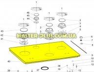 Стеклокерамическая поверхность плиты Indesit C00287313