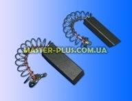 Щетки угольные 6*12,5*36 цельные, провод по центру, с пружинкой