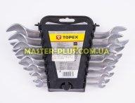 Ключи рожковые 6-22мм, набор 8шт TOPEX 35D656