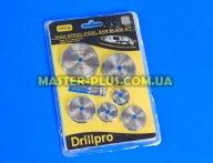 Набор отрезных дисков 22-50мм для гравера (бормашины) Drillpro