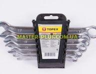 Ключі комбіновані 8-17мм, набір 6шт TOPEX 35D755 для ручного інструмента