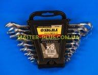 Ключі комбіновані 6-19мм, набір 8шт Sigma 6010111 для ручного інструмента