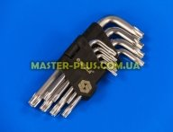 Звездообразные ключи Torx T10-T50, набор 9шт Sigma 4022211