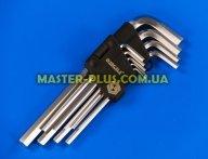 Ключи шестигранные 1.5-10мм, набор 9шт Sigma 4022021