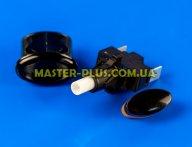Кнопка подсветки (черная) GefestПКН 507-223