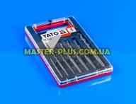 Набор сверл по бетону 4-12 мм 7 шт Yato YT-4390