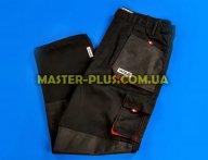 Штани робочі червоно-чорні (M) Yato YT-8026 для спецодягу та засоби захисту