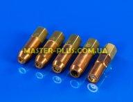 Зварювальний насадка до пальника Messer Allgas комплект 5 шт для інструмента для ремонту холодильників