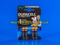 Батарейка Duracell AAA (LR03) MX2400 Turbo 4шт (5000394069220 / 81549875)