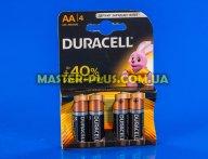 Батарейка Duracell AA (LR06) MN1500 4шт (5000394052536 / 81551270)