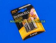 Батарейка Duracell AAA (LR03) MN2400 Basic 6шт (5000394107472 / 81483511)