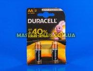 Батарейка Duracell AA (LR6) MN1500 Basic 2шт (5000394058163 / 81551267)