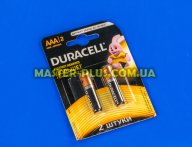 Батарейка Duracell AAA (LR03) MN2400 2шт (5000394058170 / 81484984)