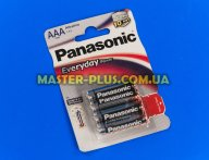 Батарейка Panasonic Everyday Power AAA BLI 4шт Alkaline (LR03REE/4BR)