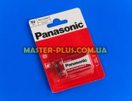Батарейка Panasonic Red Zinc RF22 BLI 1шт Zinc-Carbon (6F22REL/1BP)
