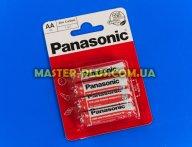 Батарейка Panasonic Red Zinc AA BLI 4шт Zinc-Carbon (R6REL/4BPR)