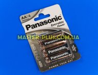 Батарейка Panasonic Everyday Power AA BLI 4шт Alkaline (LR6REE/4BR)