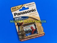 Батарейка Panasonic Alkaline Power AAA BLI 4шт (LR03REB/4BPR)