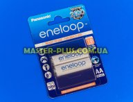 Акумулятор Panasonic Eneloop AA 1900mAh 2шт Ni-MH (BK-3MCCE / 2BE) для електротоварів