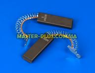 Щетки угольные 5*13,6*43,3 клееные, провод по центру с пружинкой SKL