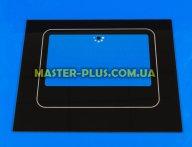 Наружное стекло для плиты NORD 490х395мм (черное)