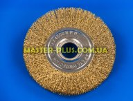 Щетка проволочная дискообразная 125мм для болгарки Sigma 9012121