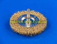 Щетка проволочная дискообразная 75мм для дрели Sigma 9013071