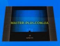 Наружное стекло для плиты GRETA 498х396мм (черное) с логотипом