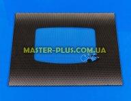 Зовнішнє скло для плити GRЕТА 498х396мм (чорне) для плити та духовки