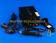 Паяльная станция с феном Extools (HandsKit) 909D 4в1 (паяльник+фен+тестер+USB)