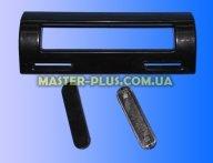 Ручка двери холодильника (универсальная) крепление 85-160мм черная