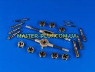 Набір плашек та метчиків M3-M12 20шт TOPEX 14A425 для ручного інструмента