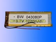 Універсальний акумулятор для планшета 43080P 3,7V 1200mAh для планшета