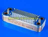 Теплообменник ГВС (12 пластин) для котла газового Immergas 1.028657 (SWEP Корея)