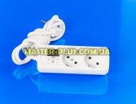 Реле напруги на дві розетки ZUBR R216y для електротоварів