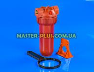 """Колба магістрального фільтра для гарячої води Slim Line 10 """"(підключення 3/4"""") AquaKit SL 10 """"3P H NP для фільтра для води"""