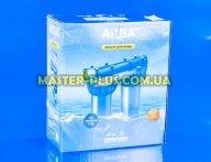"""Колби магістрального фільтра Slim Line 10 """"(підключення 1"""") AquaKit SLD 10 """"3P TP для фільтра для води"""