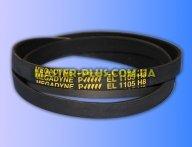Ремень 1105 H8 EL «Megadyne» черный