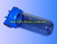 """Колба магістрального фільтра Slim Line 10 """"(підключення 1"""") AquaKit SL 10 """"3P TP для фільтра для води"""