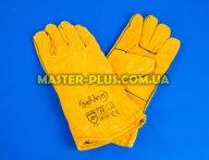 Рукавички зварювальника (краги) жовті з флісовою підкладкою для спецодягу та засоби захисту
