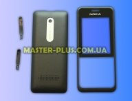Корпус для телефона Nokia 301 Black