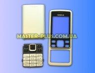 Корпус для телефона Nokia 6300 Silver