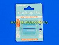 Акумулятор Panasonic Eneloop Lite AAA 550mAh 2шт Ni-MH (BK-4LCCE / 2BE) для електротоварів