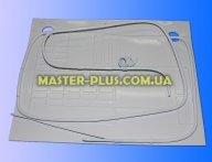 Пластина испарителя 450*370мм (2 трубки с капилярками)